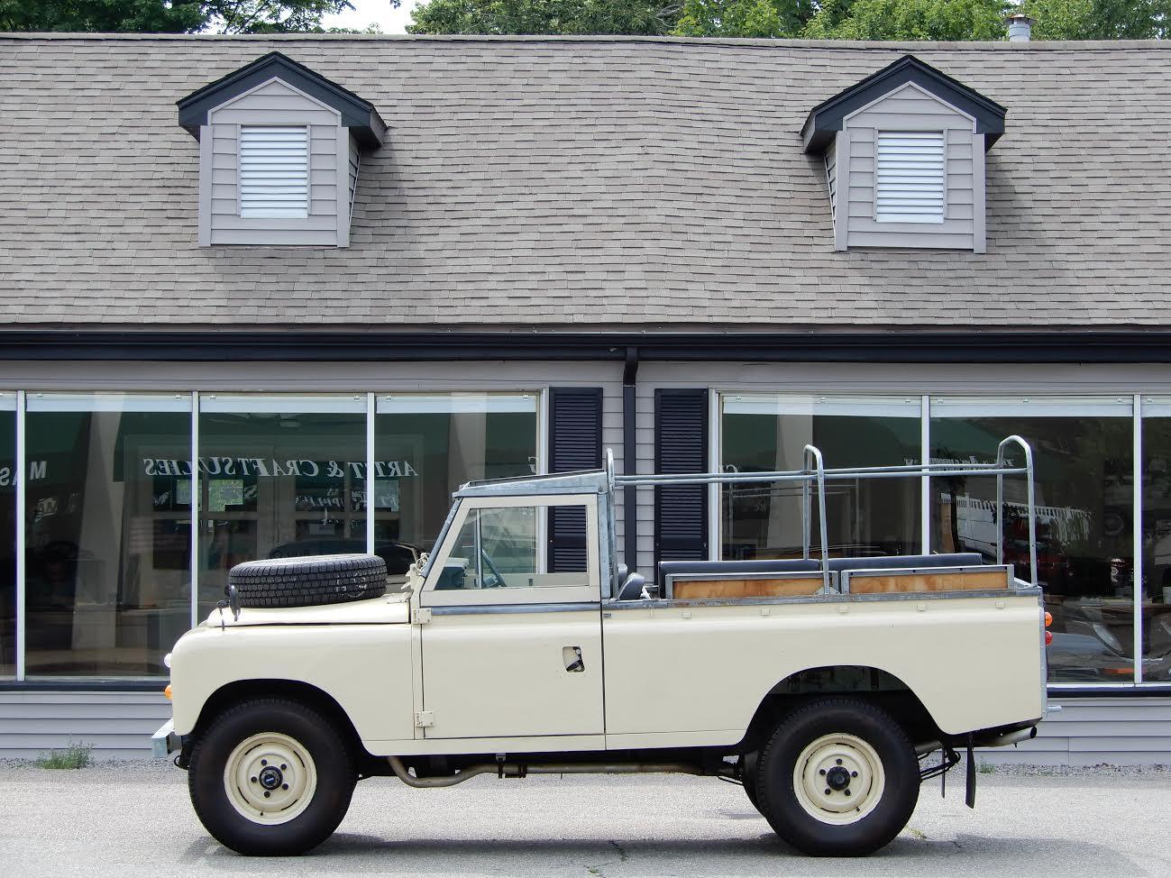 1976 land rover series iii 109 v6 convertible | copley motorcars