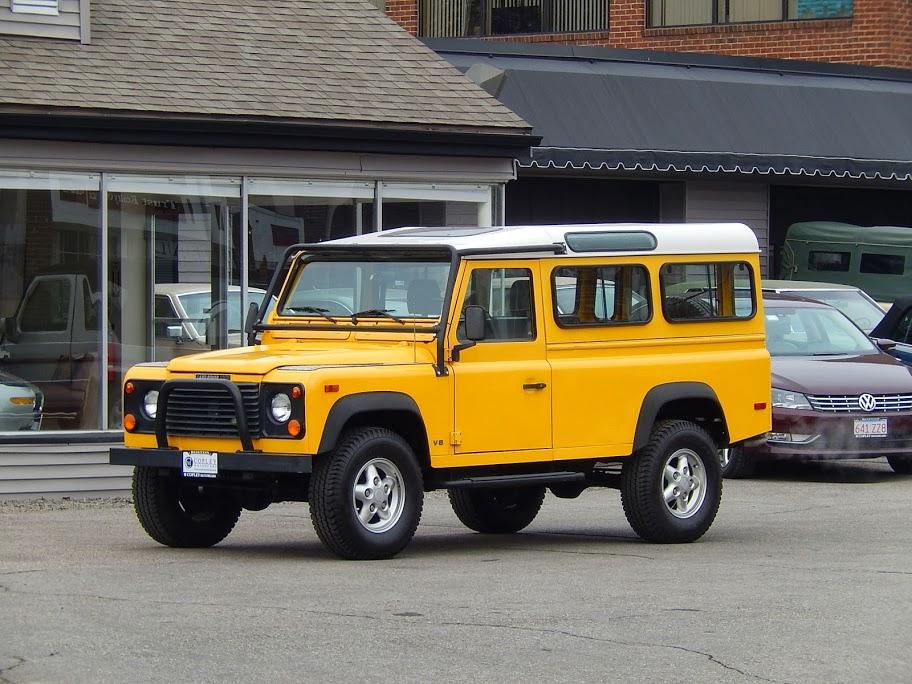 1995 Land Rover Defender 110 2 Door Copley Motorcars