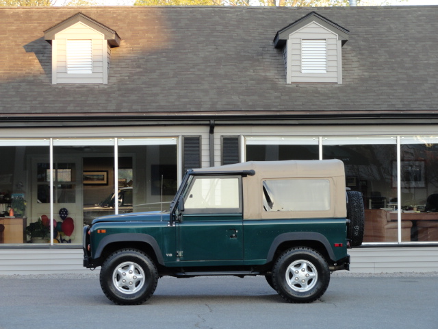 1997 Land Rover Defender 90 Soft Top Brg Copley Motorcars