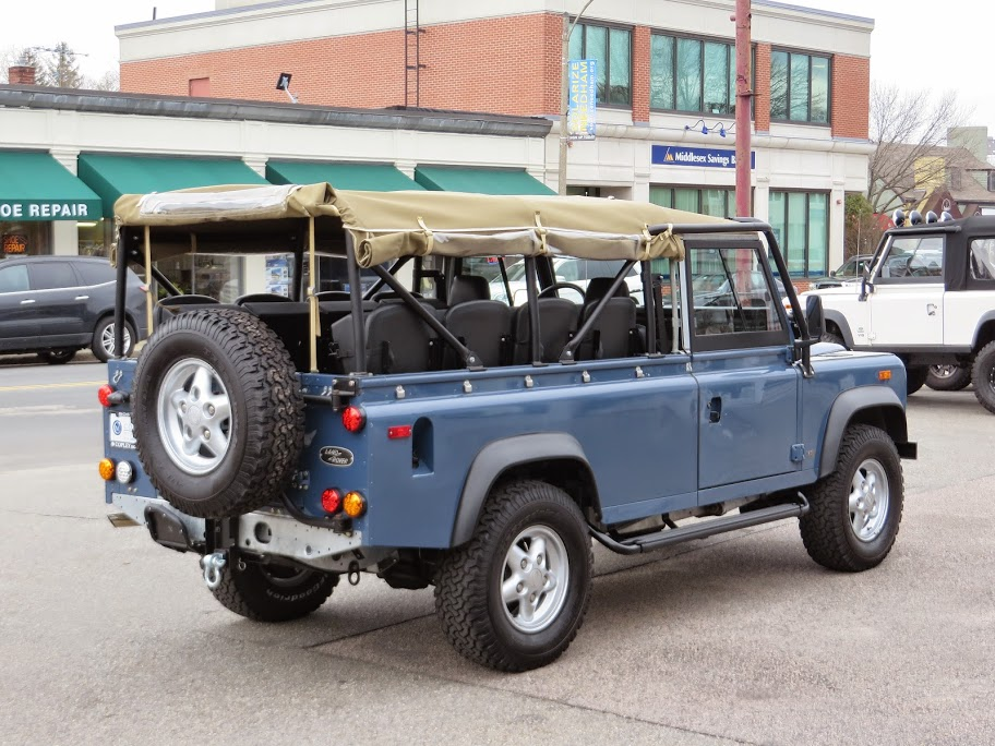 1994 land rover defender 110 convertible copley motorcars for Copley motor cars land rover