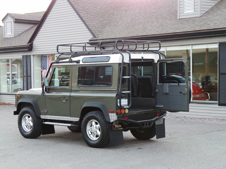 1997 Land Rover Defender 90 Limited Edition 142 Copley