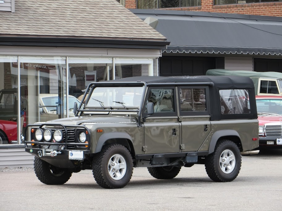 1997 Land Rover Defender 110 Beach Runner 5 Copley