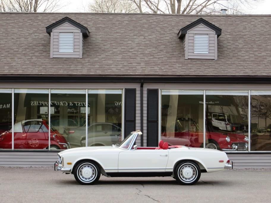 1969 mercedes benz 280sl roadster copley motorcars for Mercedes benz erie pa