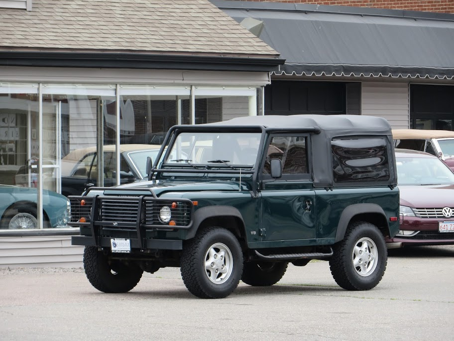 1997 land rover defender 90 soft top copley motorcars for Copley motor cars land rover