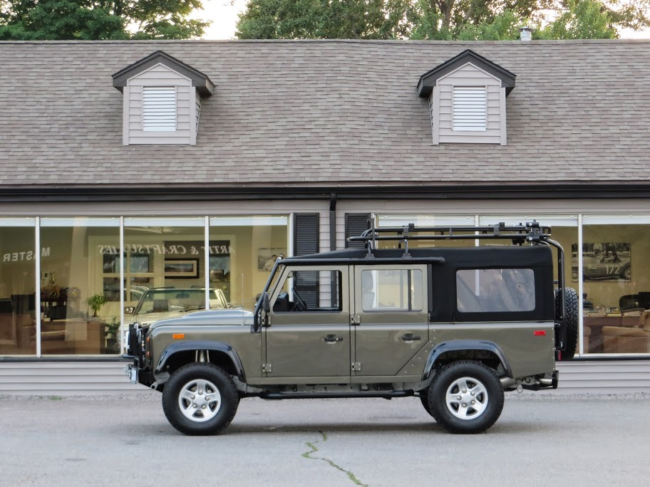 1993 Land Rover Nas Defender 110 Convertible 148 Copley
