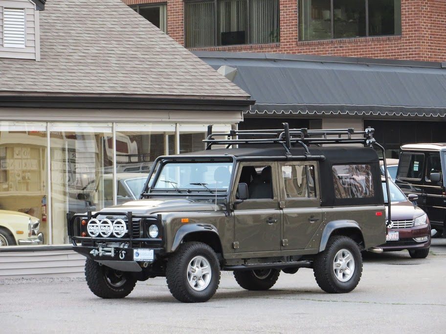 1993 Land Rover NAS Defender 110 convertible #148 | Copley ...