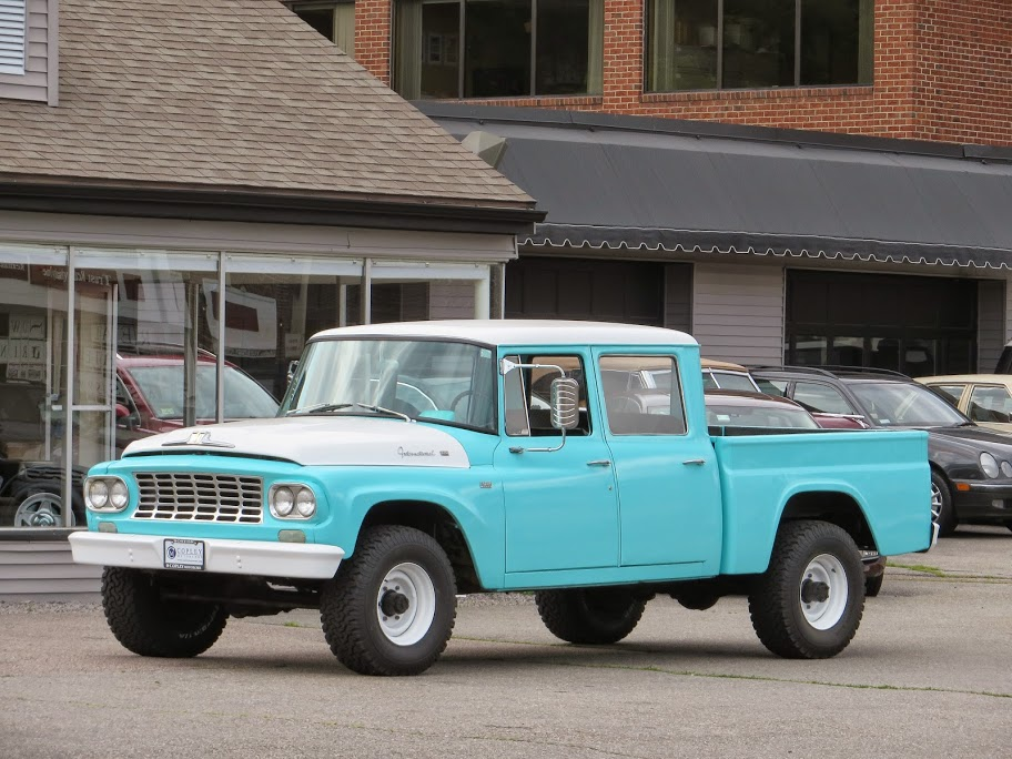Bentley Truck Price >> 1962 International Harvester C-120 Series Travelette 4X4 crew cab pickup | Copley Motorcars