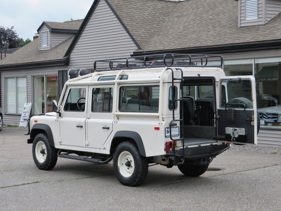 1993 land rover nas defender 110 8 copley motorcars for Copley motor cars land rover