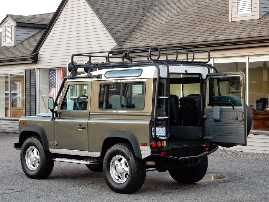 1997 land rover defender 90 limited edition 226 300 for Copley motor cars land rover