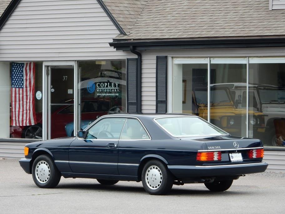 1990 mercedes benz 560sec coupe copley motorcars for Mercedes benz service san antonio