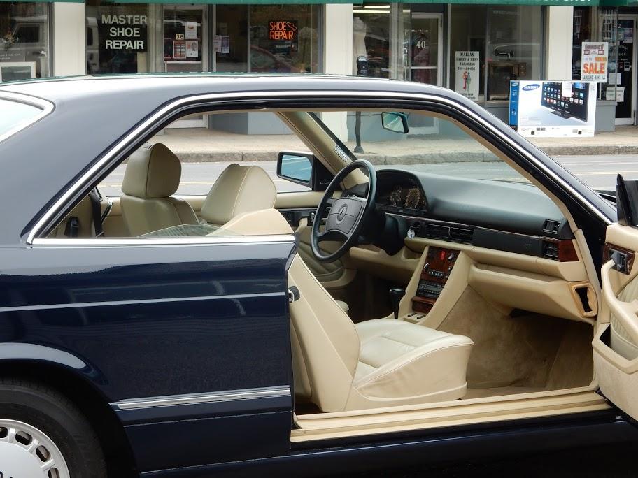 1990 mercedes benz 560sec coupe copley motorcars for Mercedes benz san antonio service