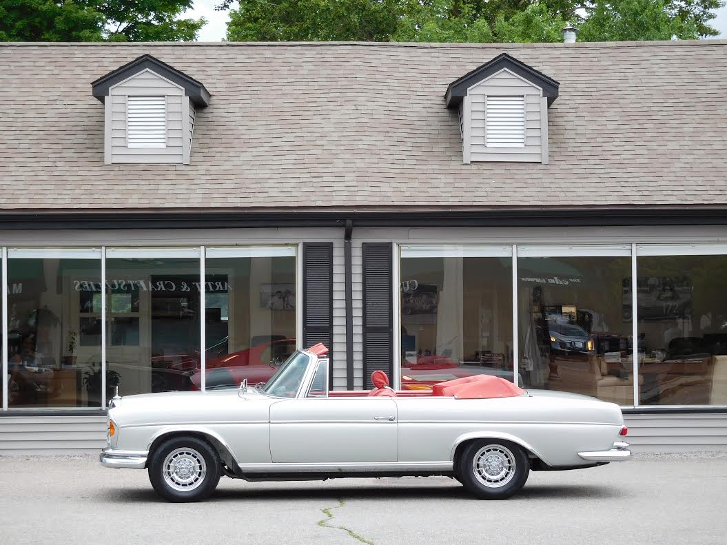 1966 mercedes benz 300se amg 6 3 cabriolet copley motorcars. Black Bedroom Furniture Sets. Home Design Ideas