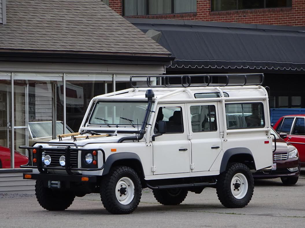 1993 land rover nas defender 110 433 copley motorcars for Copley motor cars land rover