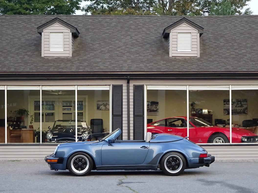 1989 Porsche 911 Speedster Copley Motorcars