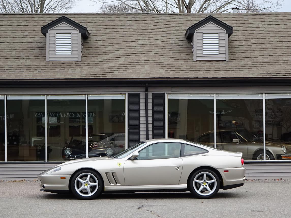 2001 ferrari 550 maranello copley motorcars. Black Bedroom Furniture Sets. Home Design Ideas