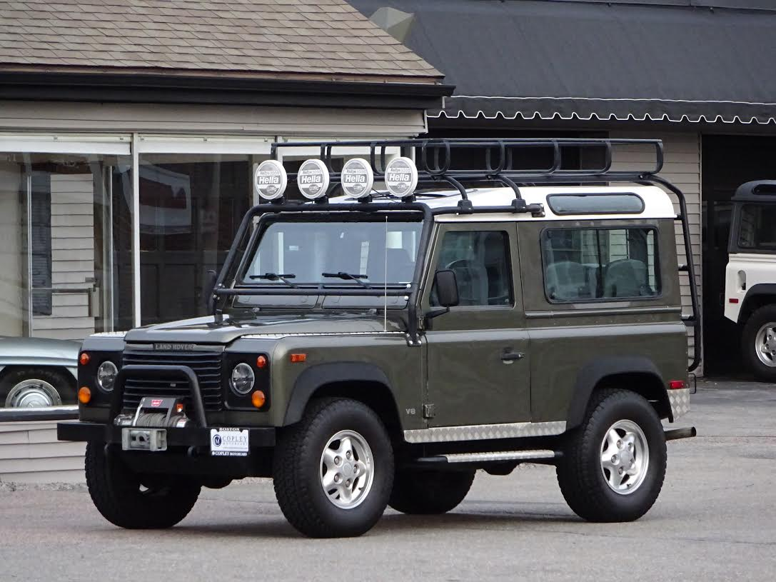 1997 land rover defender 90 le copley motorcars for Copley motor cars land rover