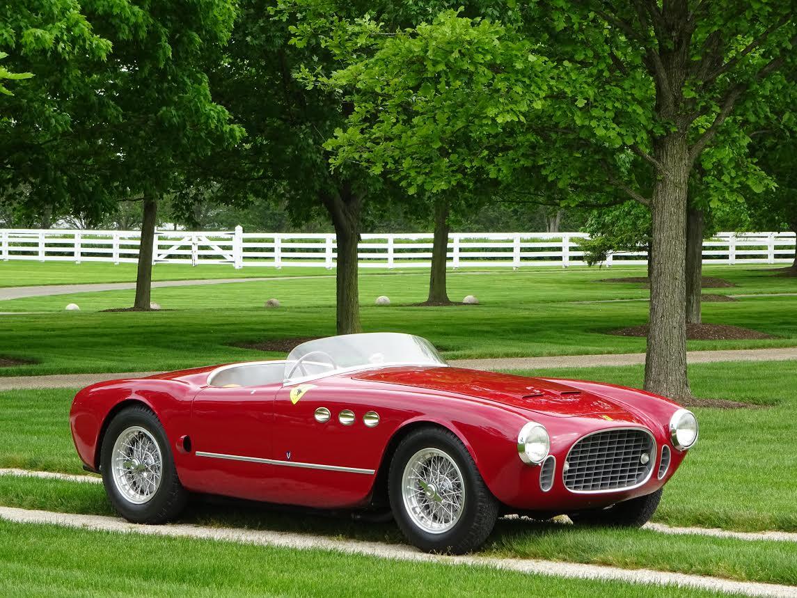 1952 Ferrari 225 Sport Vignale Spyder Copley Motorcars