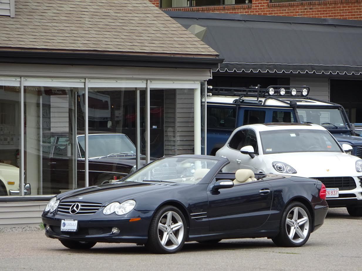 2005 mercedes benz sl500 roadster copley motorcars for 2005 mercedes benz sl500