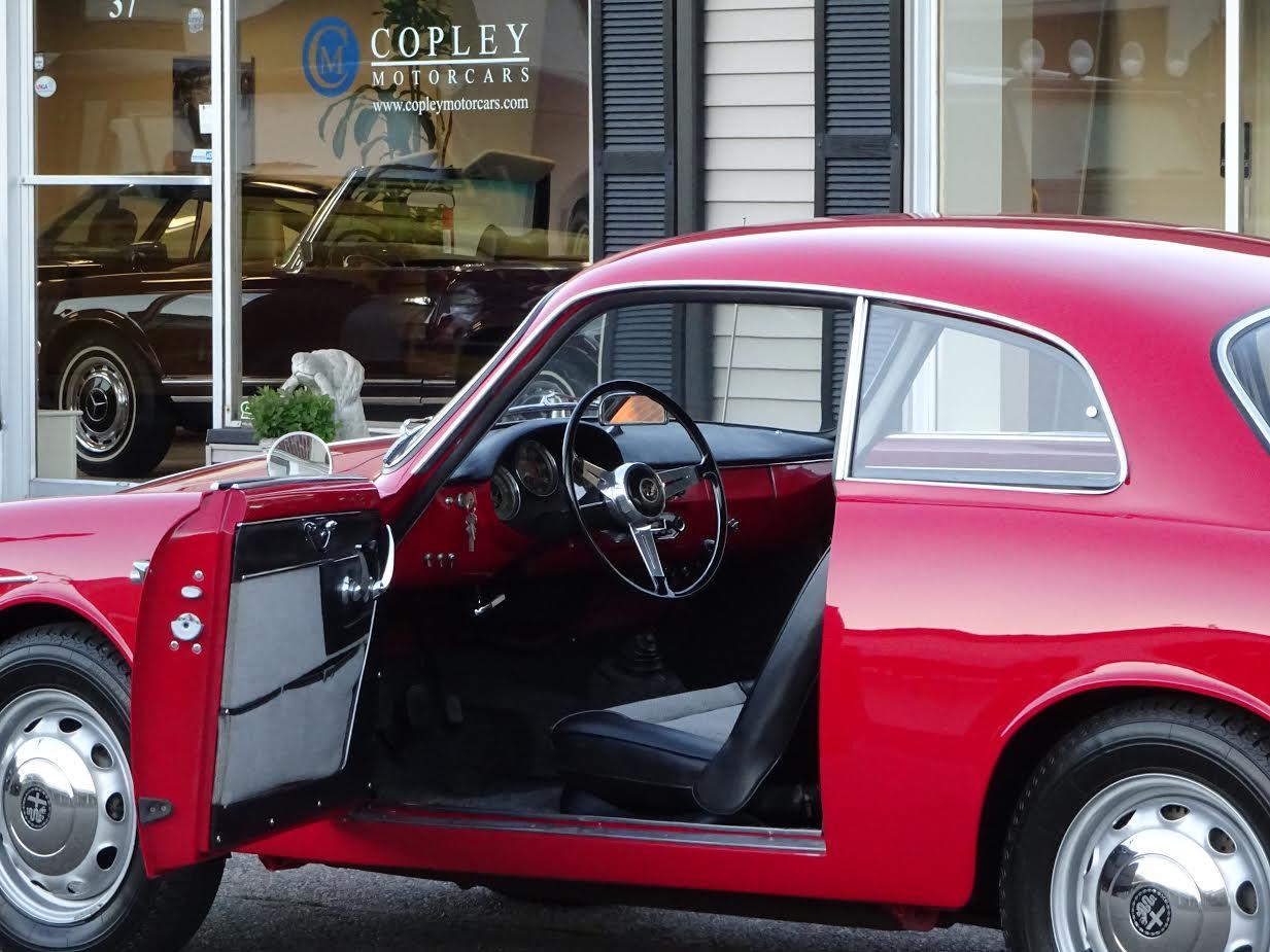 1961 Alfa Romeo Giulietta Sprint Coupe Copley Motorcars