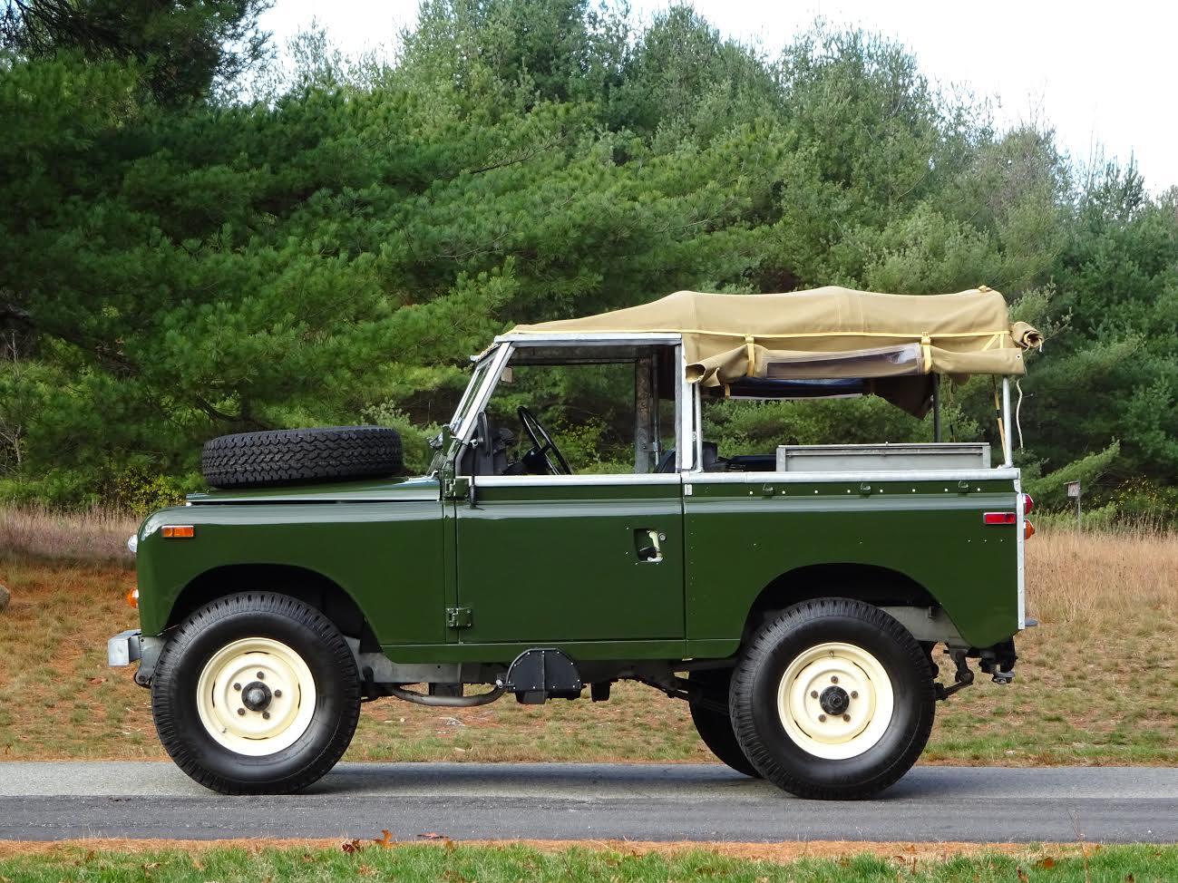 1974 Land Rover Series Iii 88 Copley Motorcars