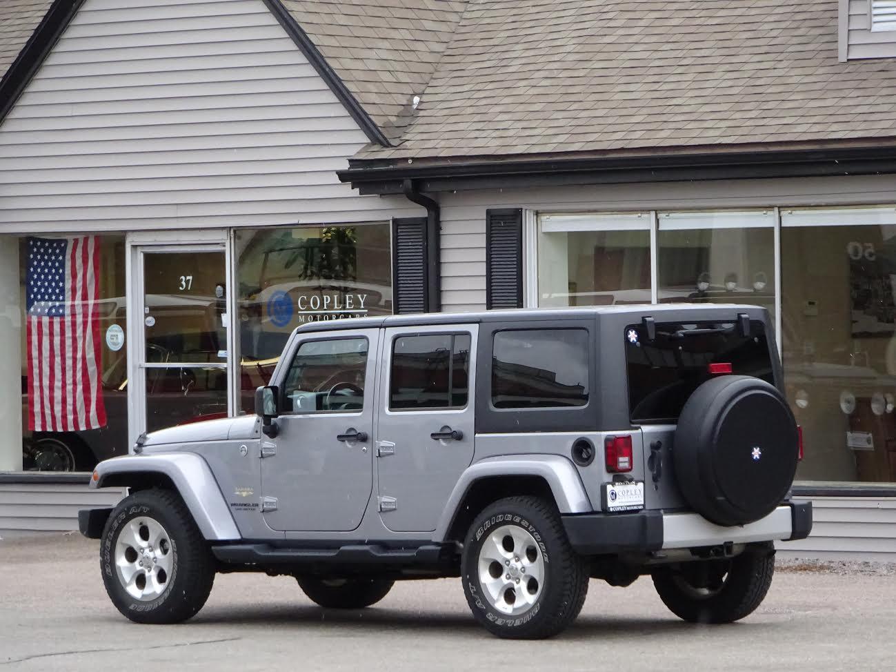 2014 Jeep Wrangler Unlimited Sahara Copley Motorcars