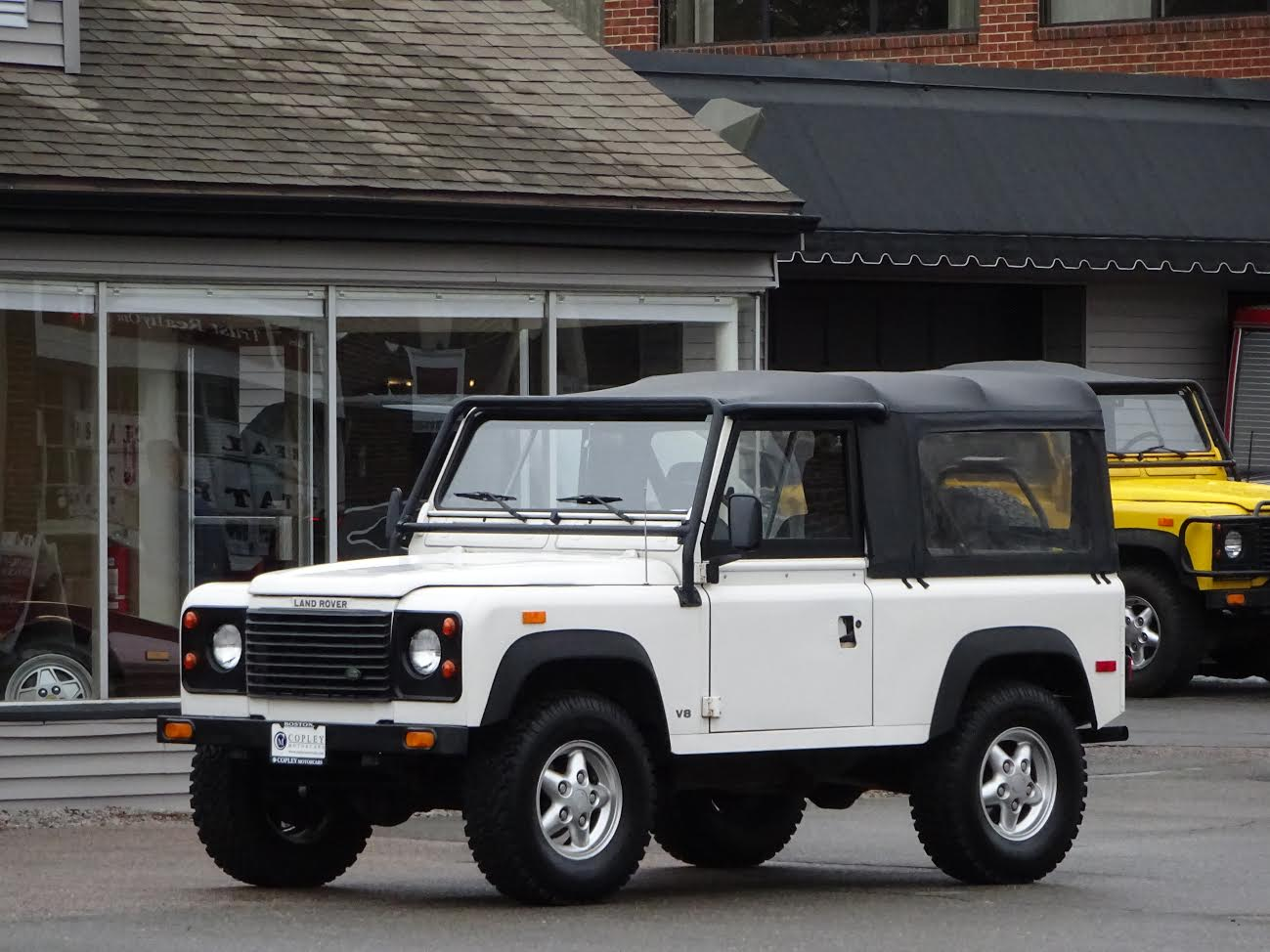 Range Rover Paramus >> 1994 Land Rover Defender 90 convertible | Copley Motorcars