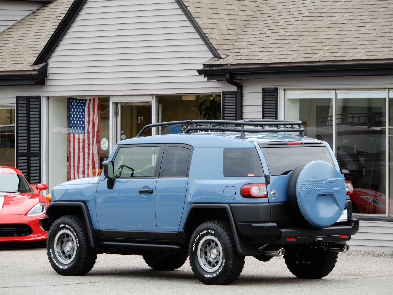 2014 toyota fj cruiser 157 miles from new copley motorcars for 2014 toyota fj cruiser interior