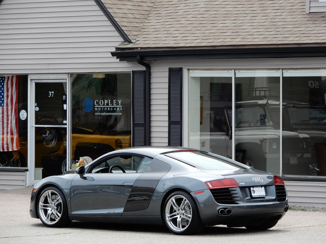 2009 audi r8 coupe copley motorcars. Black Bedroom Furniture Sets. Home Design Ideas