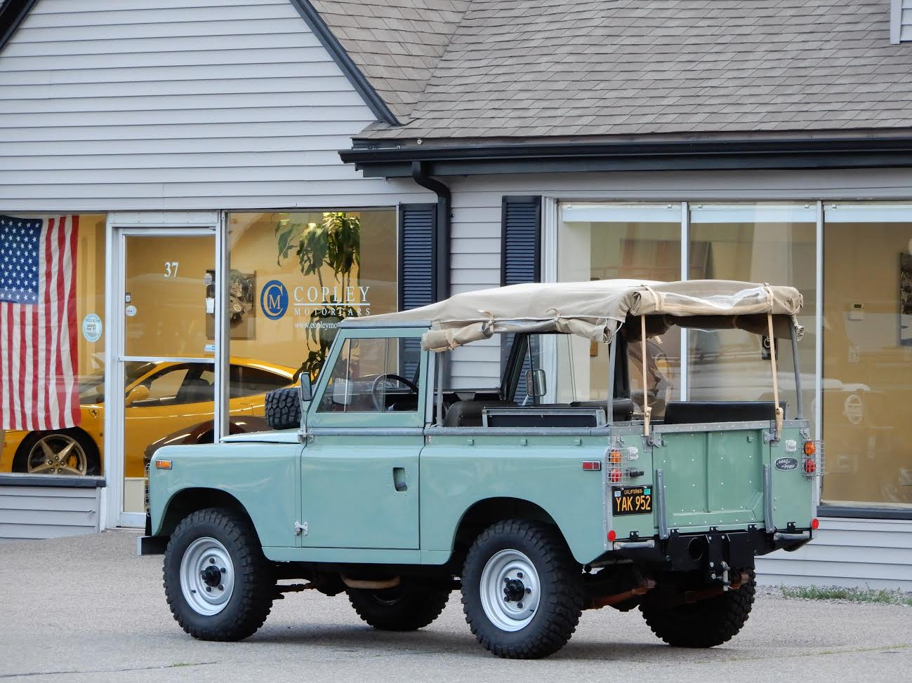 1969 land rover series iia 88 copley motorcars. Black Bedroom Furniture Sets. Home Design Ideas