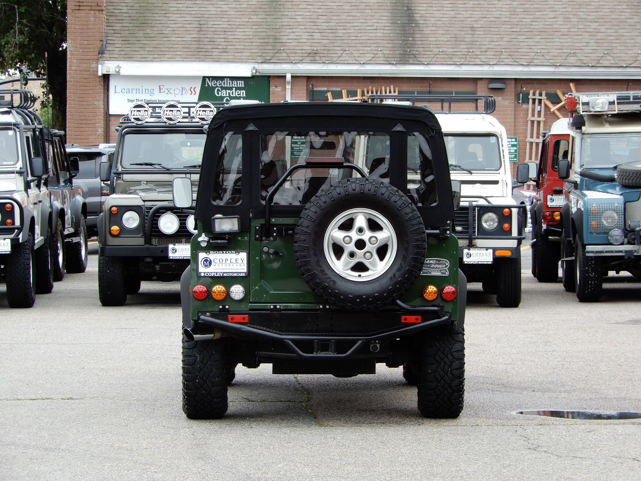 1995 Land Rover Defender 90 Barbour Edition Copley Motorcars