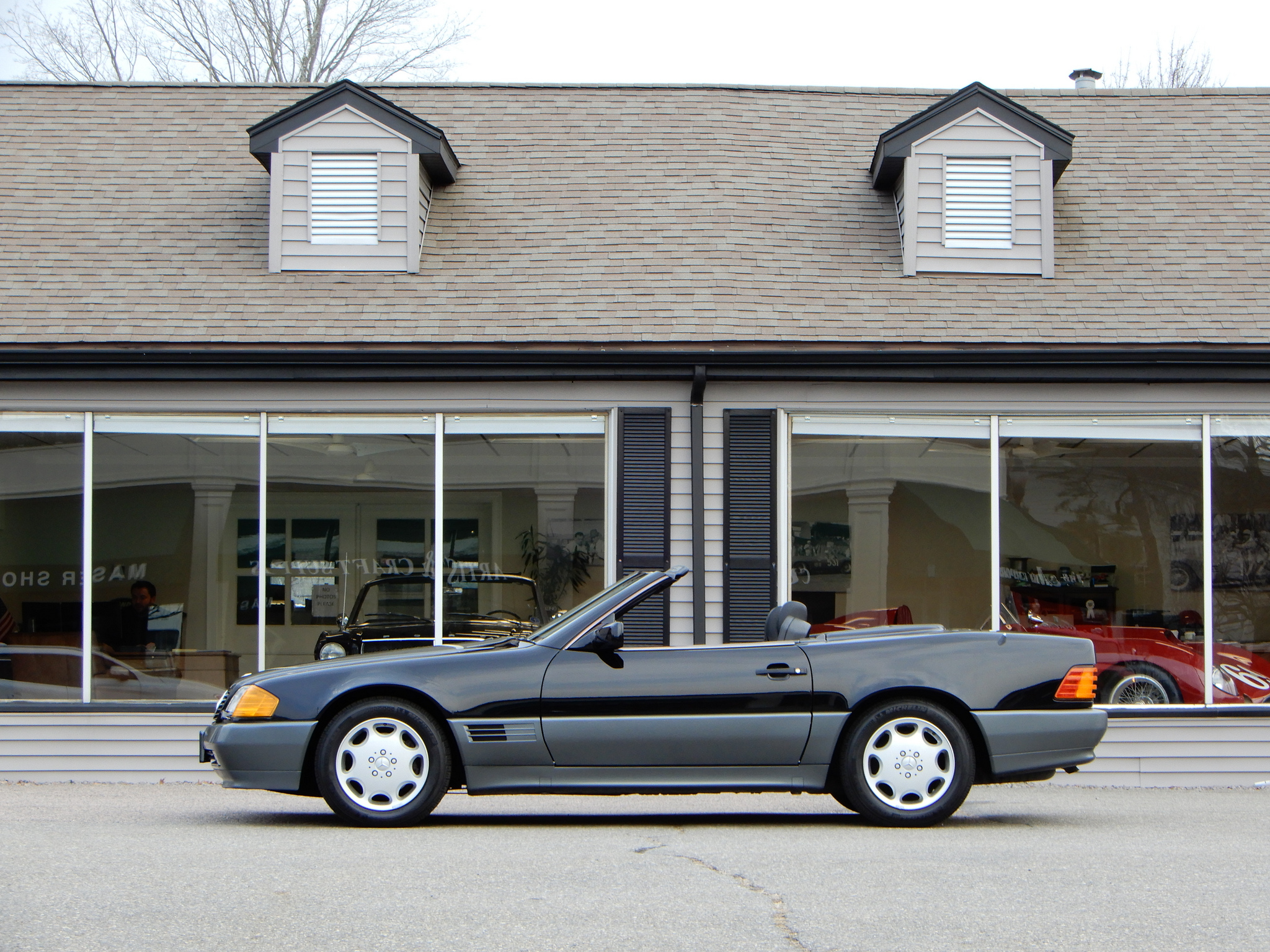 1990 mercedes benz 300sl roadster copley motorcars. Black Bedroom Furniture Sets. Home Design Ideas