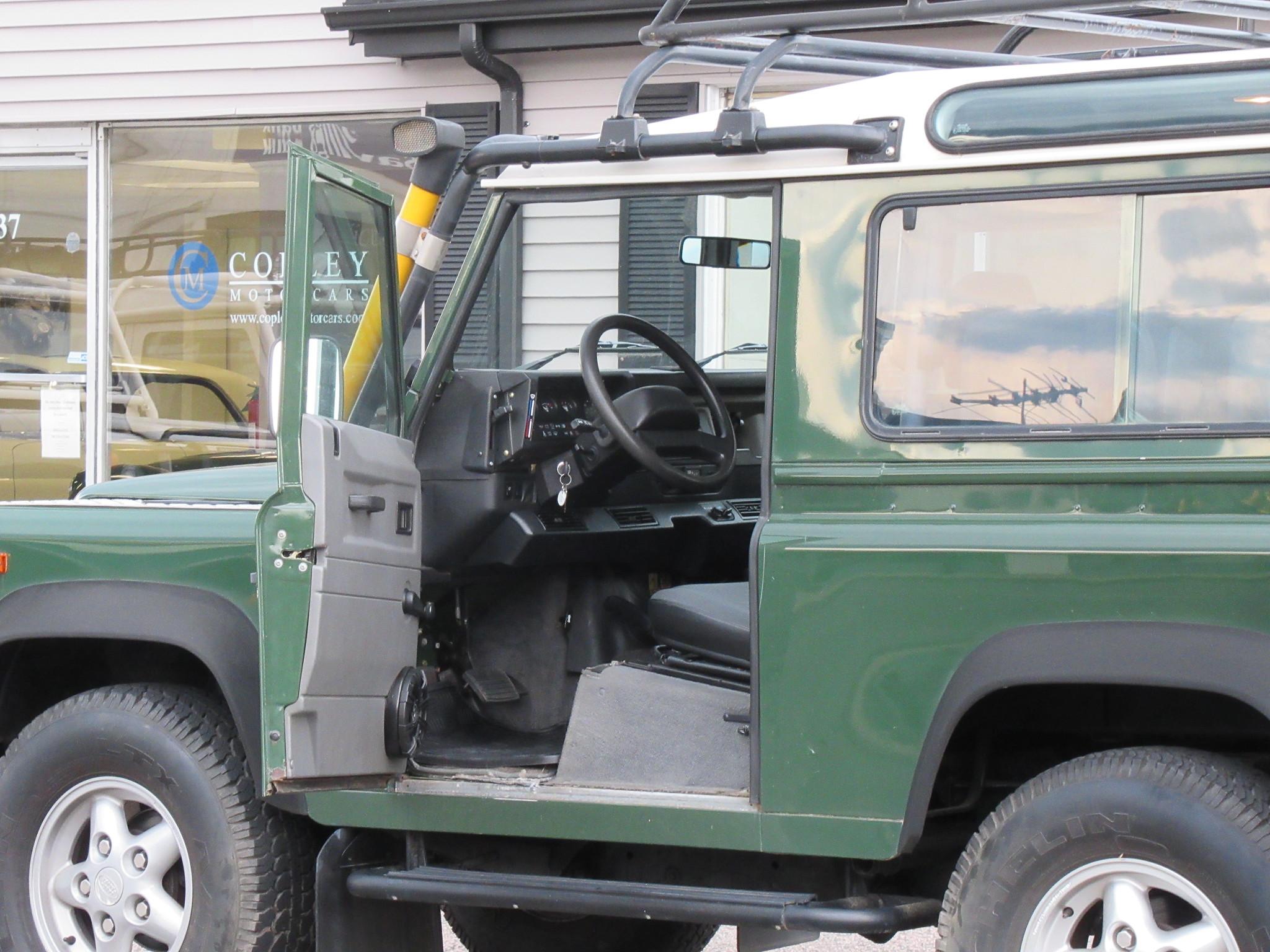 1997 Land Rover Nas Defender 90 Station Wagon Copley